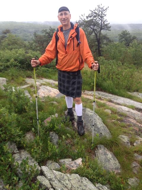 My first hike with my Sport Kilt