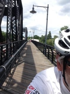 Crossing the Mohawk River