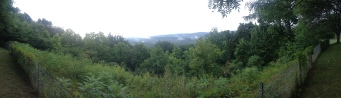 Overlooking the Mohawk River Valley