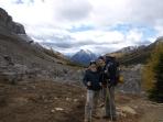 At Boulder Pass.