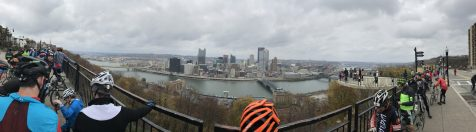 Atop Mt Washington with THE view of Pittsburgh