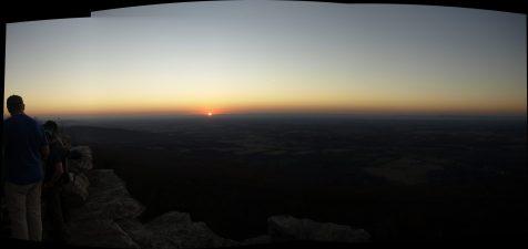 Friday Night Sunset Black Rocks