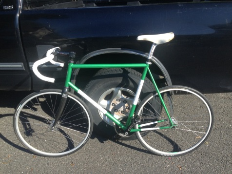 My Serotta Track bike. A real beauty!