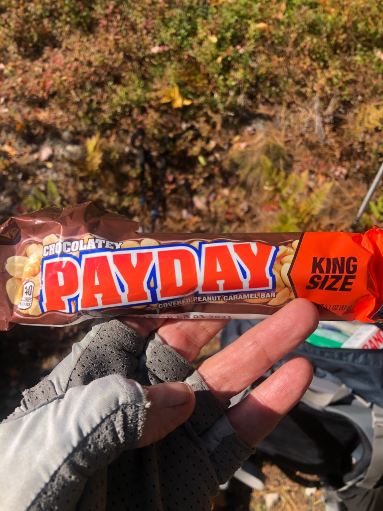 My First Chocolate Pay Day Bar